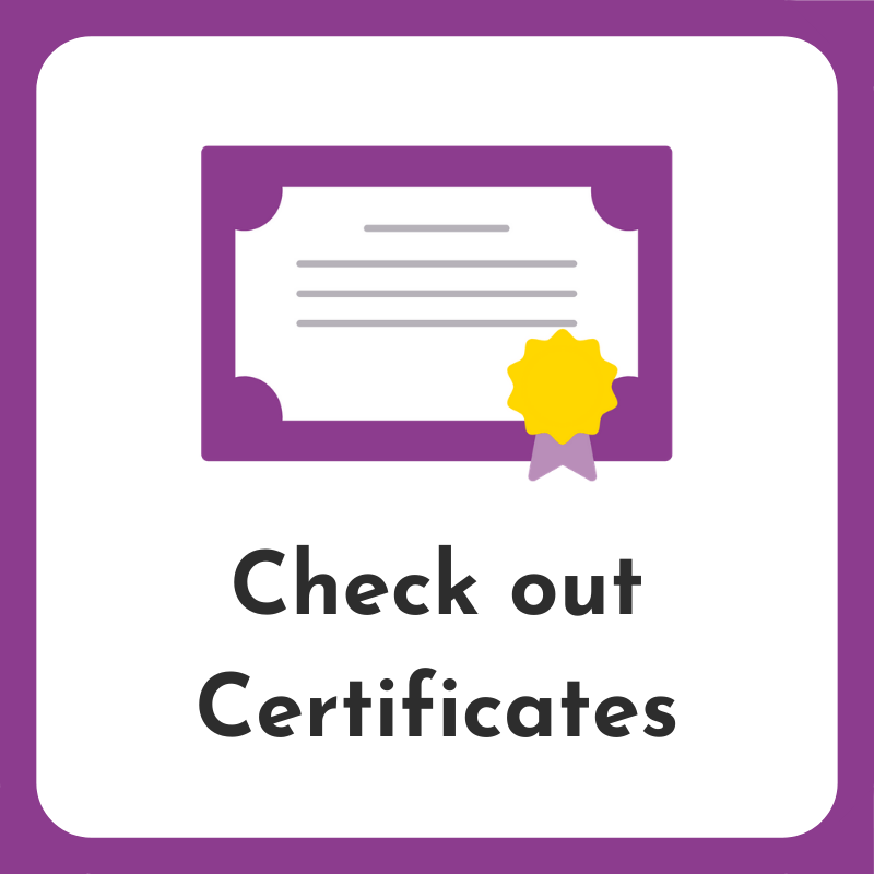 check-out-certificates